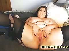 BBW Milf Latina Does Hard Anal And..